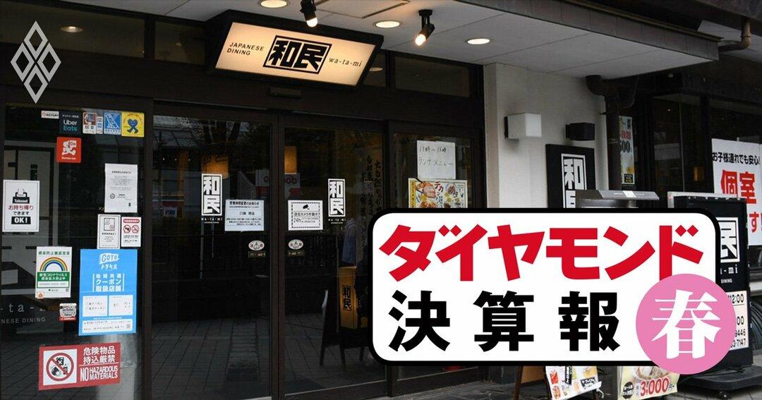決算報(居酒屋業界)