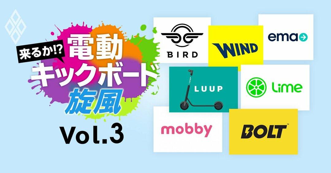 来るか!?電動キックボード旋風Vol.3