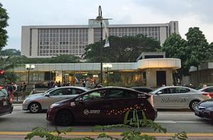 シンガポールの渋滞