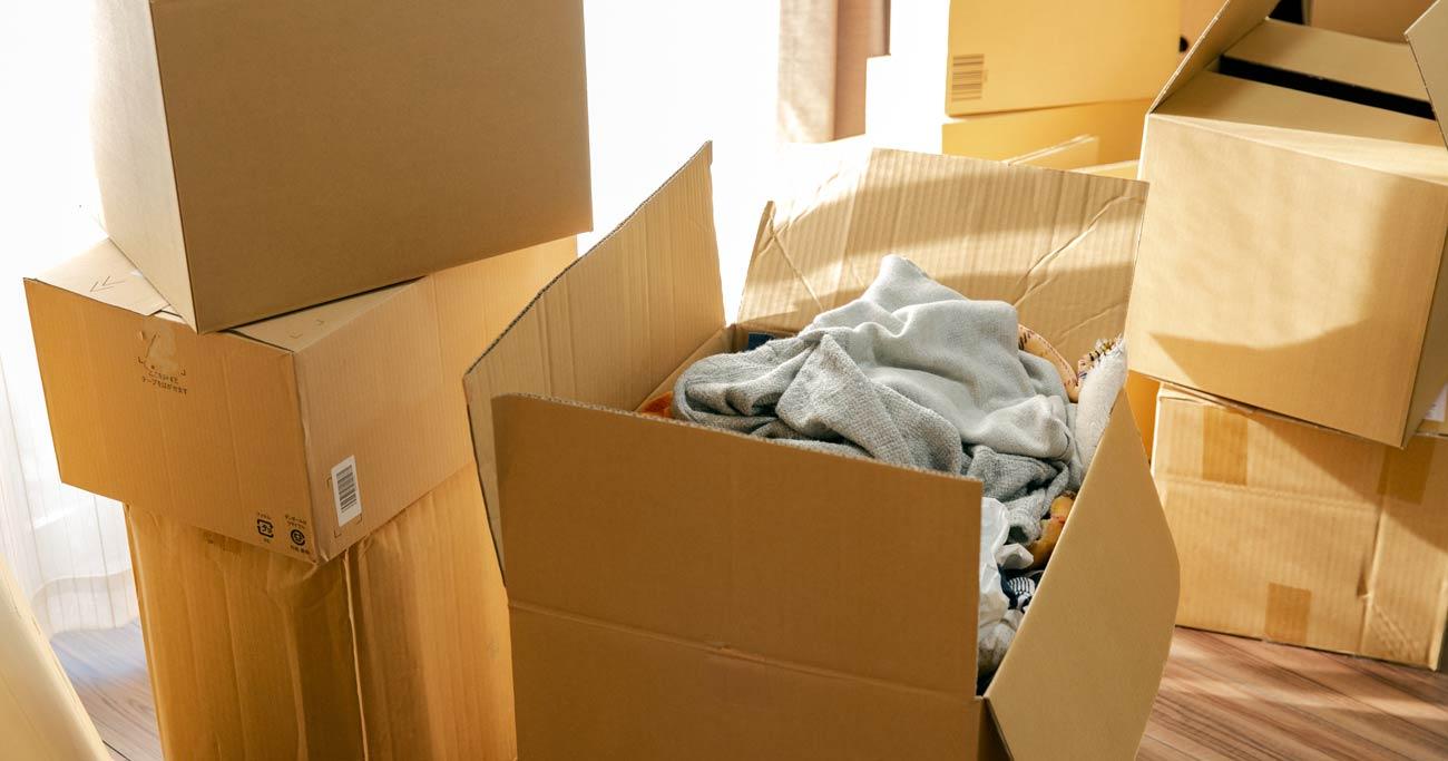 引越し後に部屋が散らかる人は「荷造り」に75%原因がある