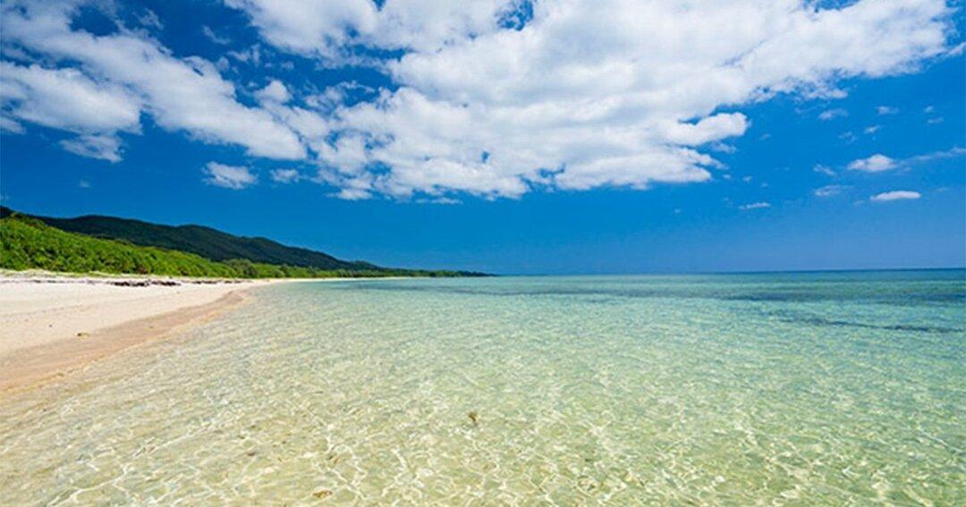 西表島の南風見田の浜