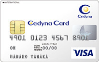 セディナカードのカードフェイス
