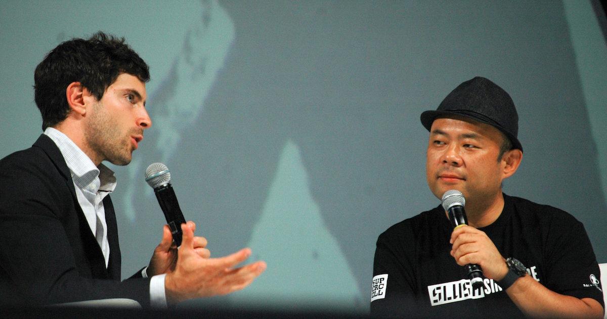 THINK BIG  -Taizo Son × Keller Rinaudo- Special Talk