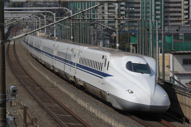 殺傷事件が起きた新幹線「N700系」