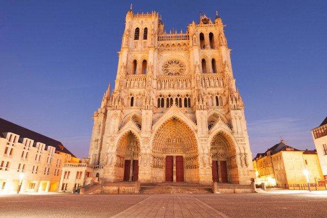 ゴシック様式建築のアミアン大聖堂