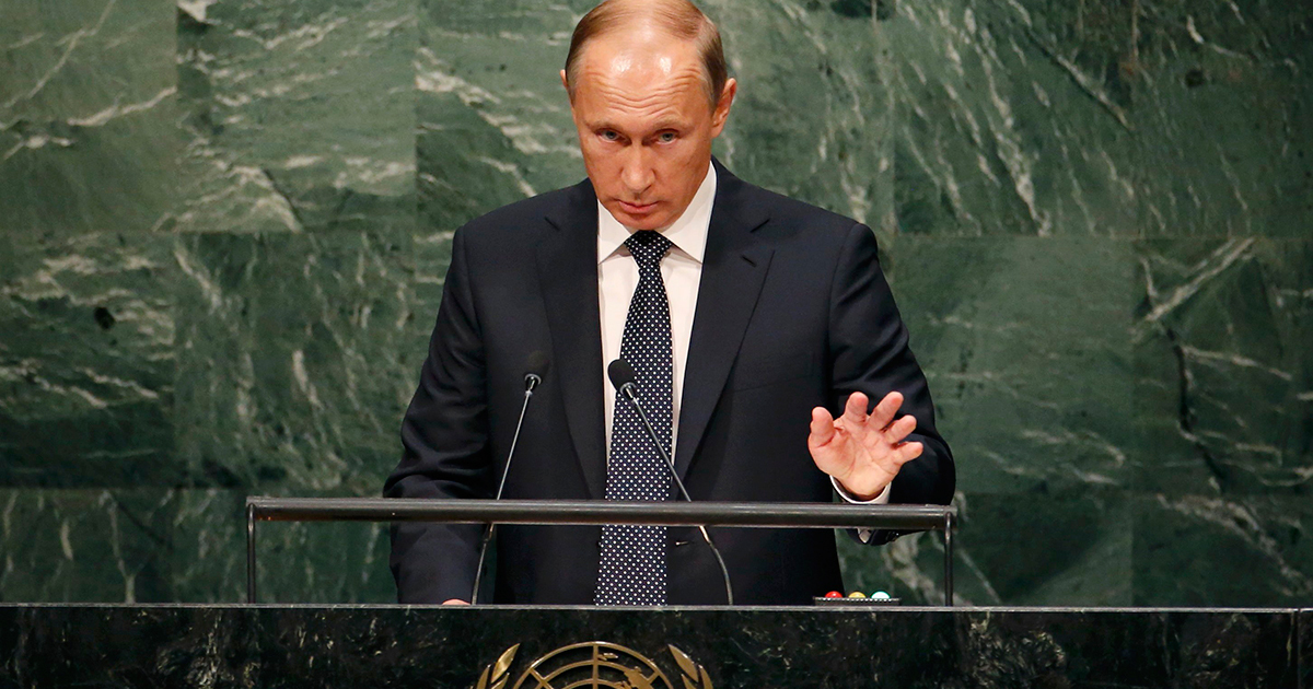 国連総会でプーチンが見事復活!シリア・IS問題で形勢大逆転