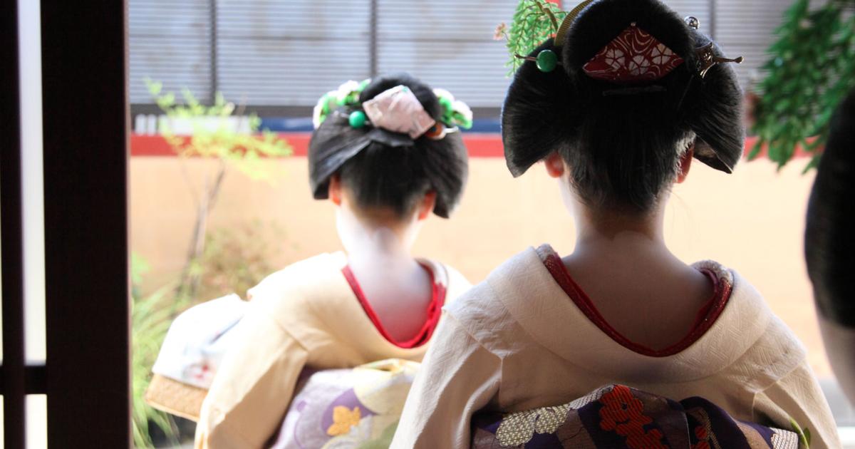 京都祇園に学ぶ「あいさつ」