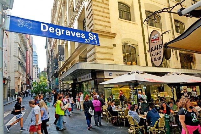 オーストラリア,メルボルン,デグレイブス・ストリート