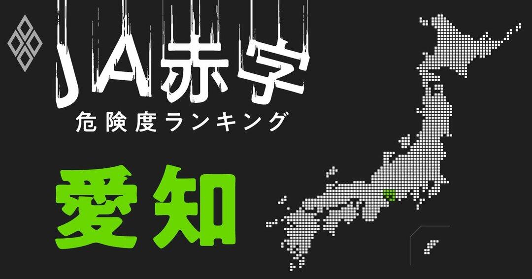JA赤字危険度ランキング#愛知