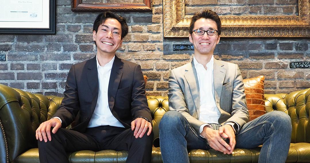 インキュベイトファンド 代表パートナーの和田圭祐氏(左)と村田祐介氏(右) Photo by Yuhei Iwamoto
