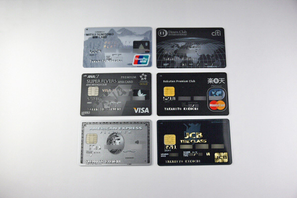 「銀聯(ぎんれん)」「ダイナースクラブ」「Visa」「Mastercard」「アメリカン・エキスプレス」「JCB」の6つの国際ブランドのクレジットカード