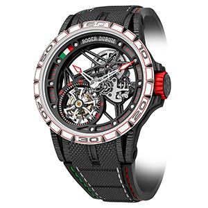 世界的に著名なデザイン会社イタルデザインとの提携を記念したロジェ・デュブイの高級時計限定版が発売
