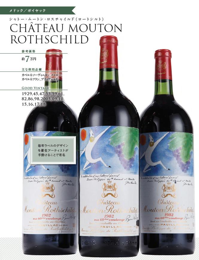 【知っておきたい定番の一流ワイン】芸能人格付チェックにも登場した高いワイン「ムートン・ロスチャイルド」とは?