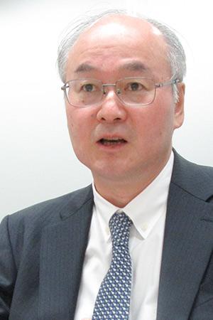 オリンパスの田口晶弘取締役