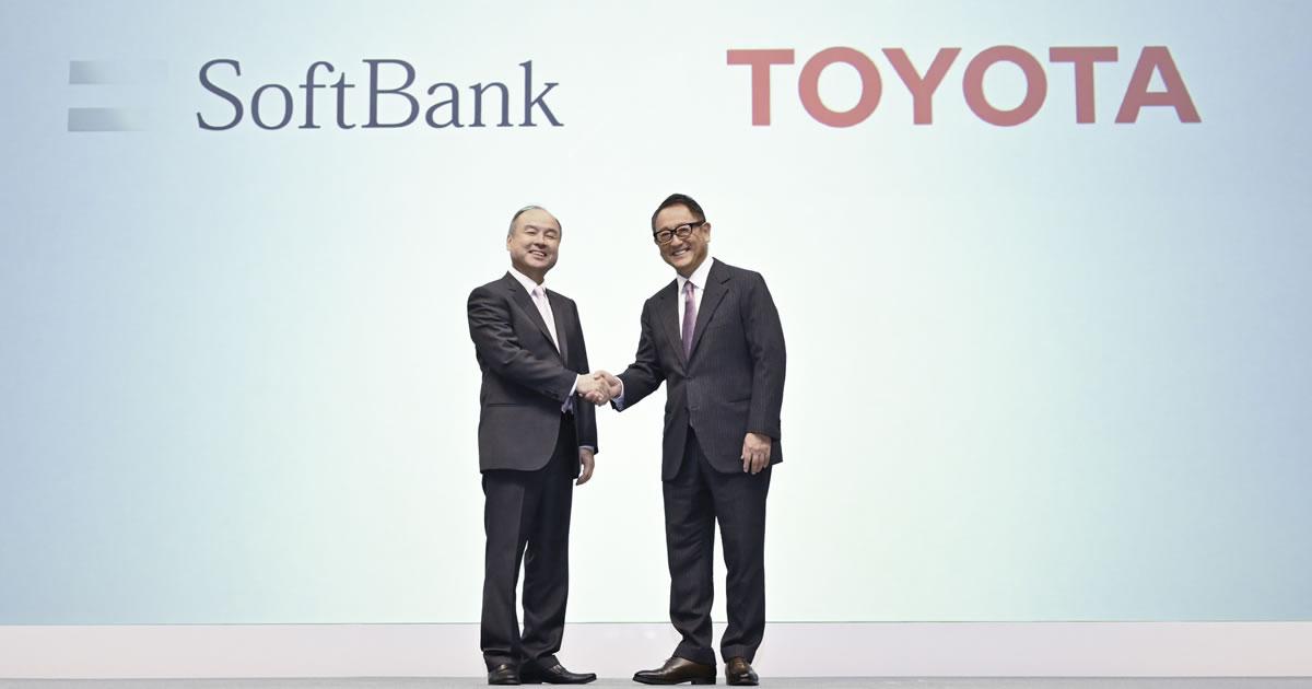 トヨタとソフトバンクが描く「MaaS市場の覇者」への道