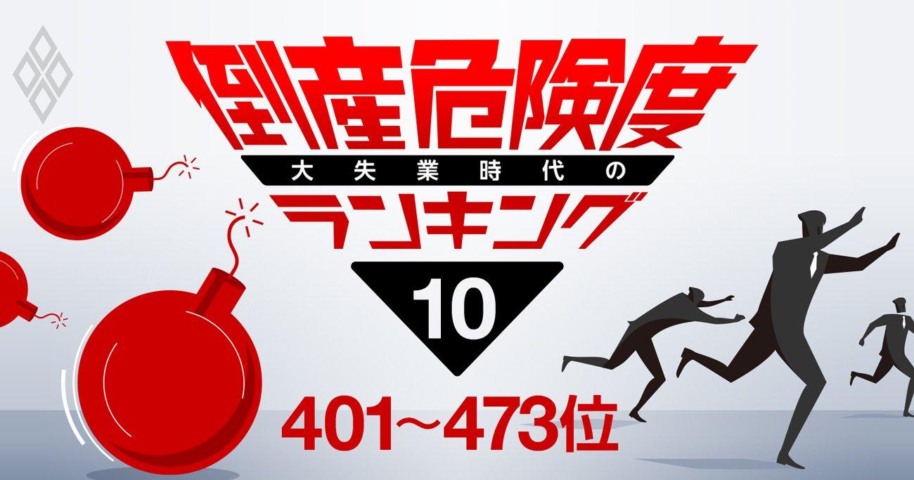 倒産危険度ランキング2020【ワースト401~473】広告収入が低迷した民放キー局の名前も