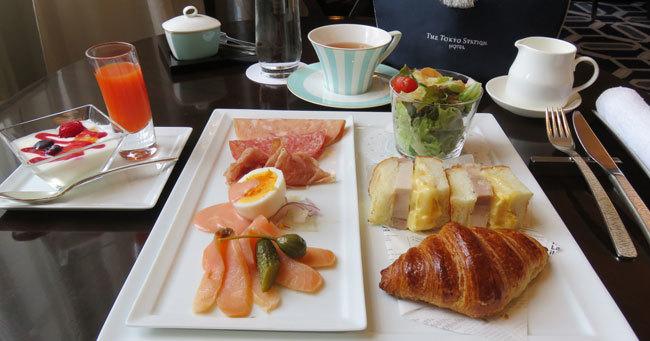 東京ステーションホテルのセット朝食