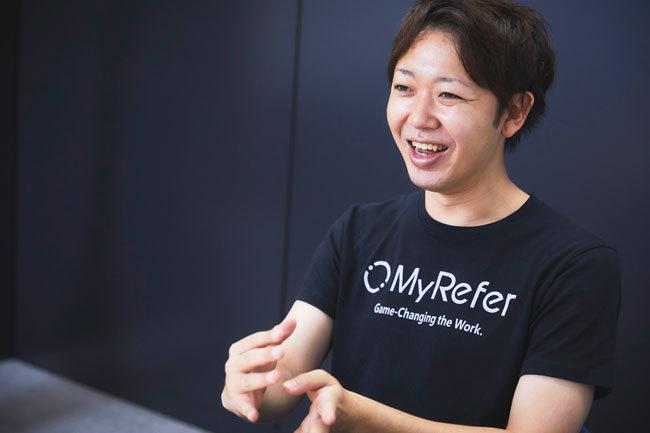 株式会社MyRefern(マイリファー)の鈴木貴史CEO