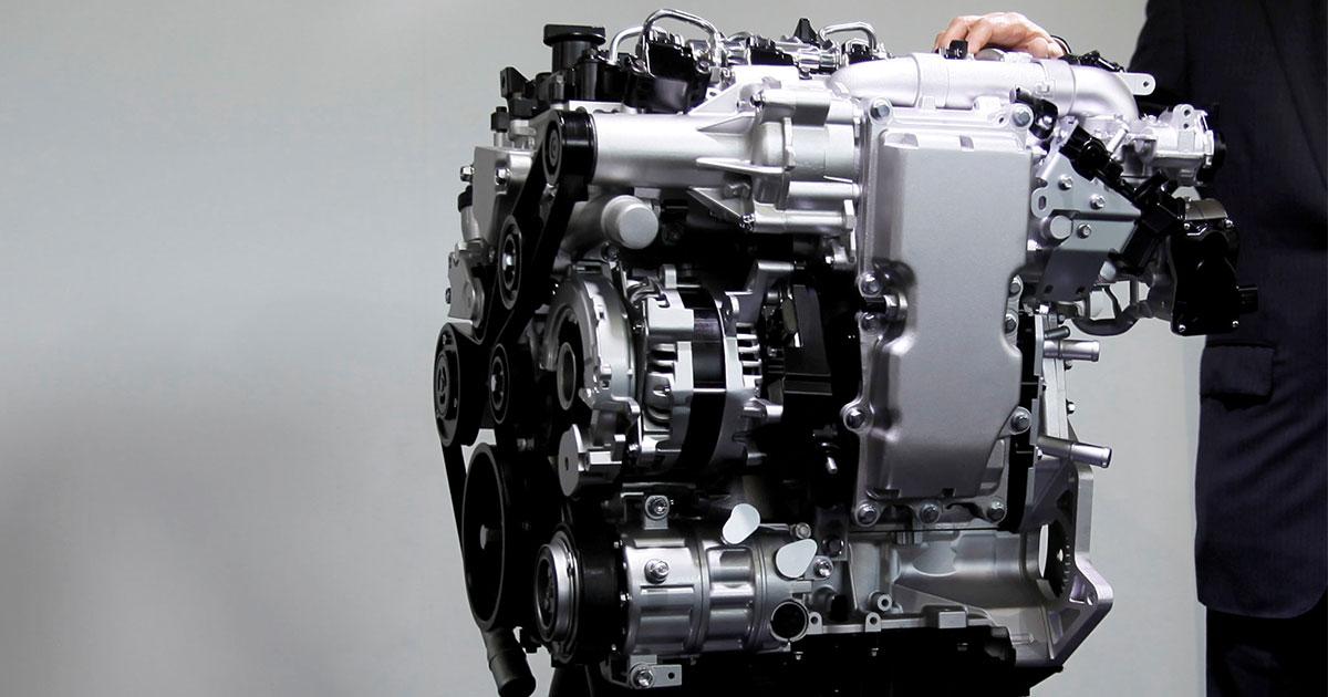 マツダ、最新エンジン「スカイアクティブX」は「マツダ3」で初搭載