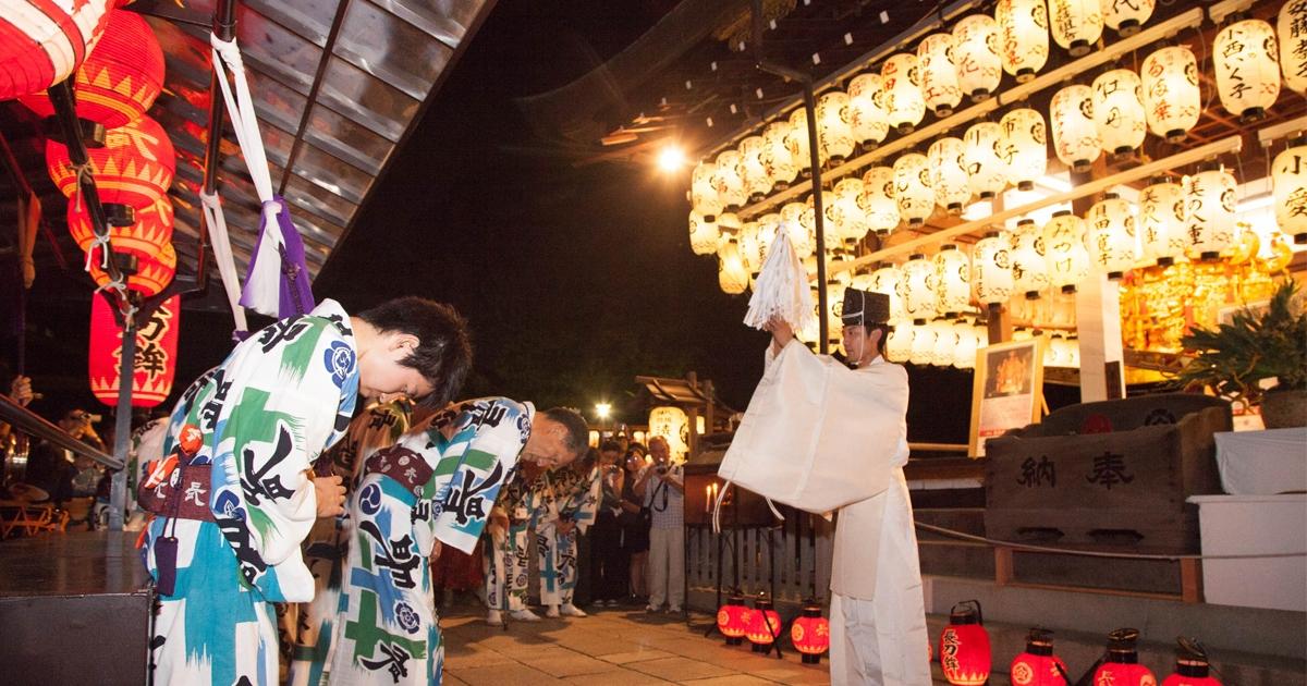 祇園町での祇園祭の楽しみは