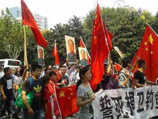 反日感情に温度差、一枚岩になれない中国<br />~上海の反日デモの現場から