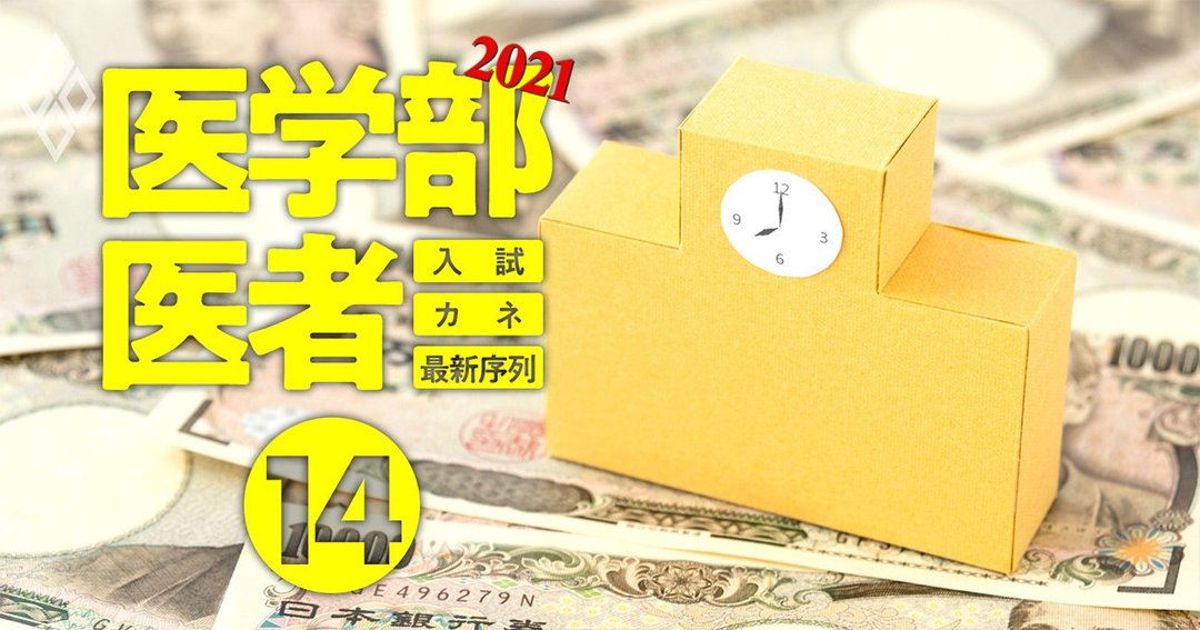 医学部&医者2021入試・カネ・最新序列#14