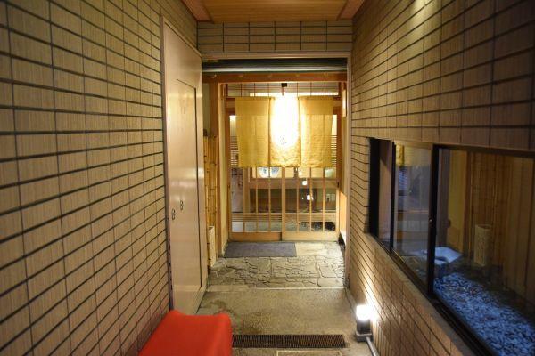 「京料理 竹島」の入り口