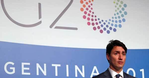 旗印降ろしたG20、首脳宣言で米中の要求に屈服