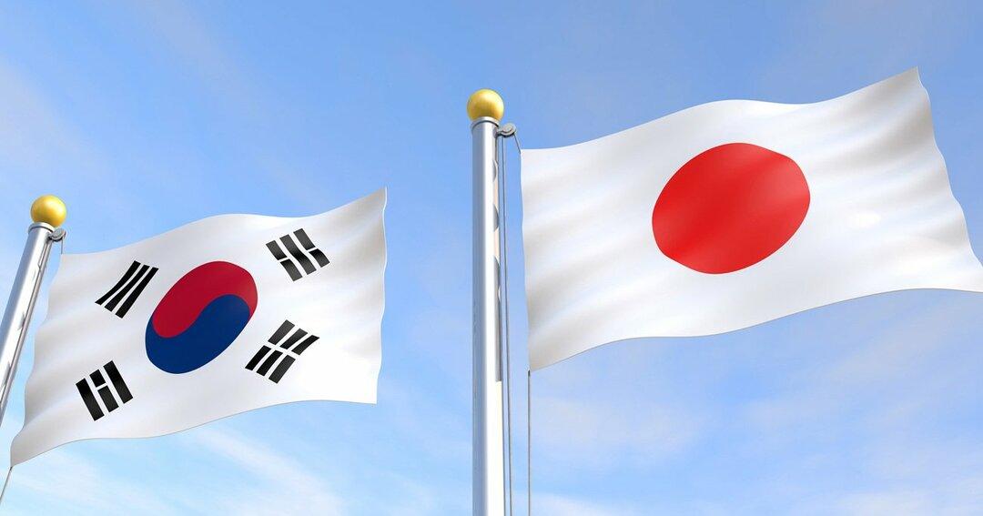 韓国,日本