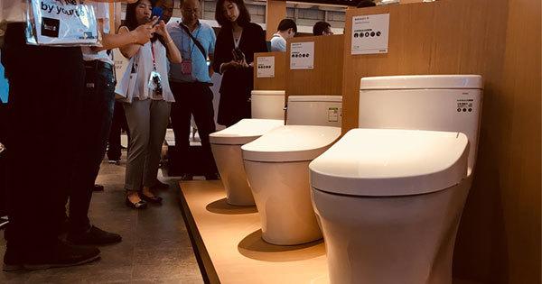 日本以外の市場で販売されている「ウォシュレット+」