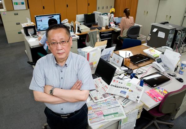 自由を求めて来日した貧乏留学生が始めた新聞 <br />震災後に帰化し名字を「福島」に <br />夢は中国での創刊