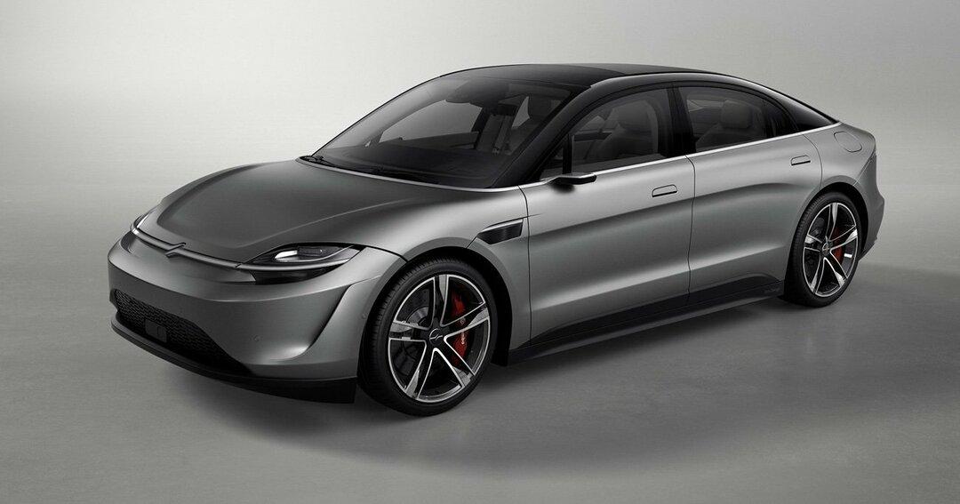 VISIONーSはソニーがマグナ・シュタイヤー社のプラットフォームを利用した新型EV