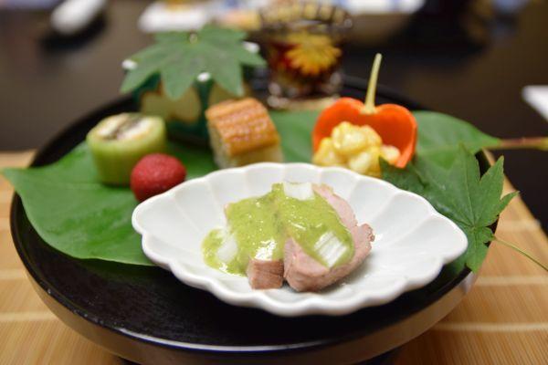 強羅花壇の夕食