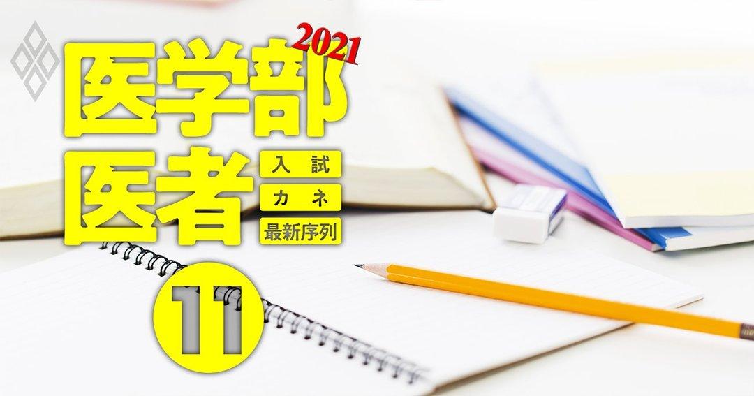医学部&医者2021入試・カネ・最新序列#11