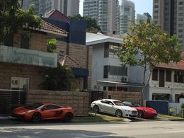 シンガポールの高級車