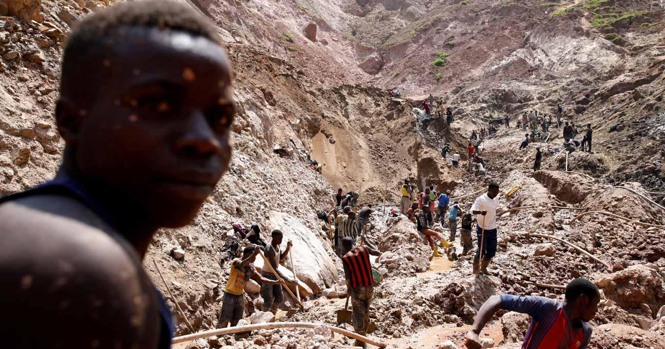 コンゴ、新たなデジタル技術で挑む「紛争鉱物」問題