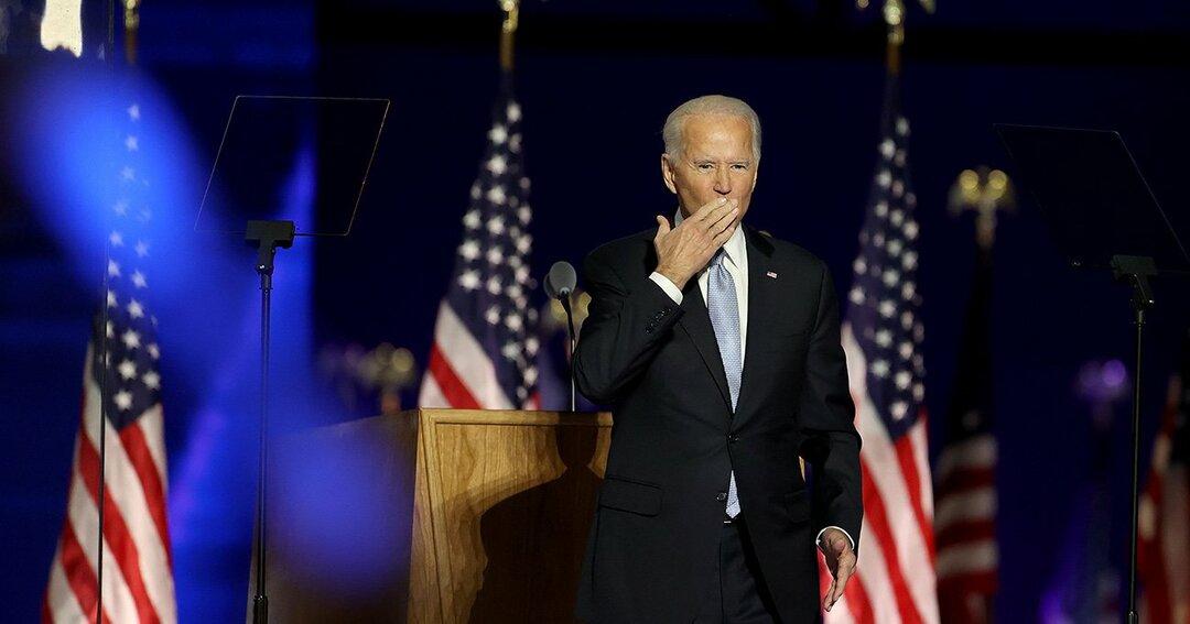 ジョー・バイデン,大統領選