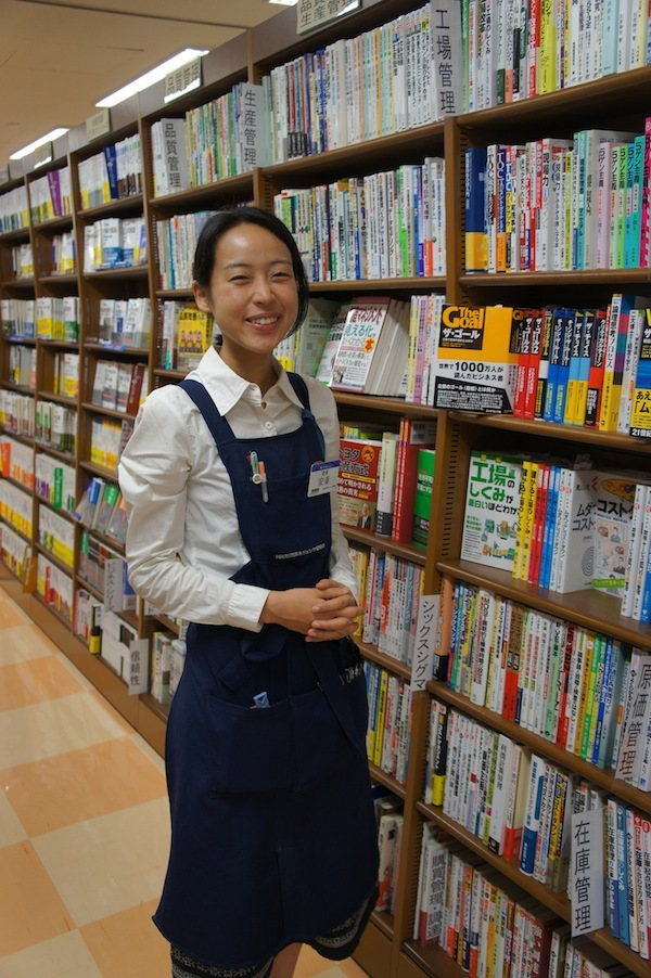 MARUZEN&ジュンク堂書店 渋谷店<br />安齋千華子さん(前編)<br />情報源は「お客さまからの問い合わせ」<br />時代に合わせて柔軟に変化する「棚」こそ書店の強み