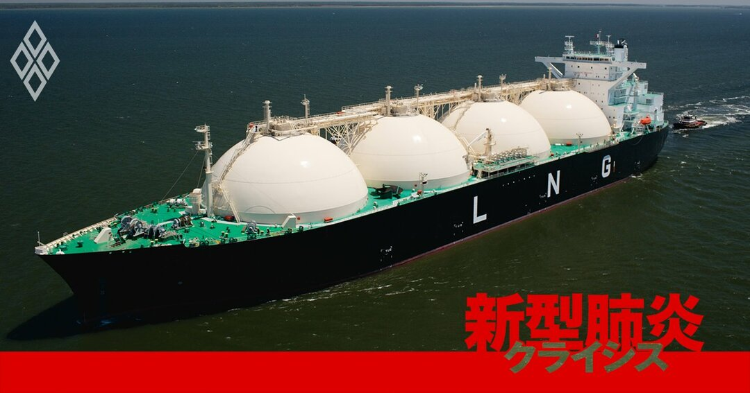 LNGのタンカー