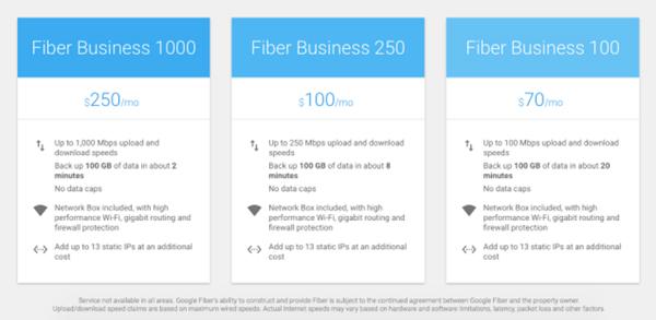 グーグルがネット接続サービスを拡大<br />中小企業向けプランはコスパ高い