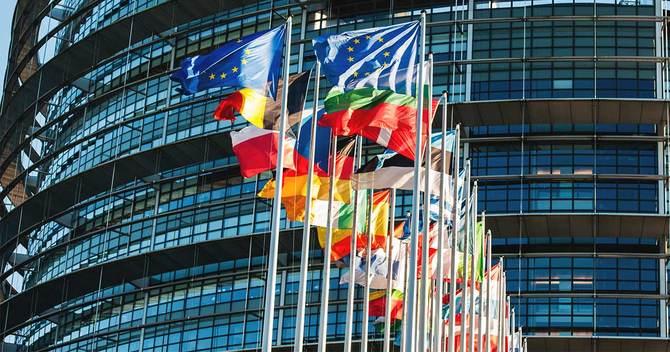 欧州議会の旗