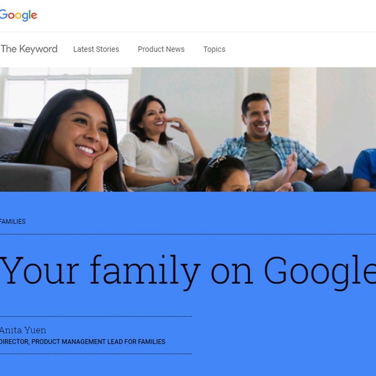 家族で情報を共有、アプリや映画、音楽がお得な「Googleのファミリーグループ」