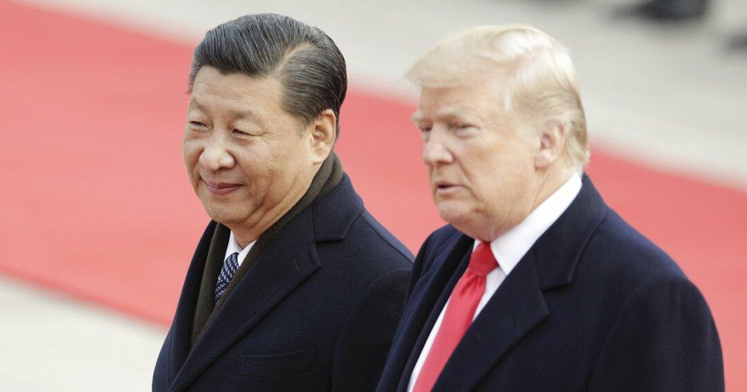 習近平国家主席とドナルド・トランプ米国大統領