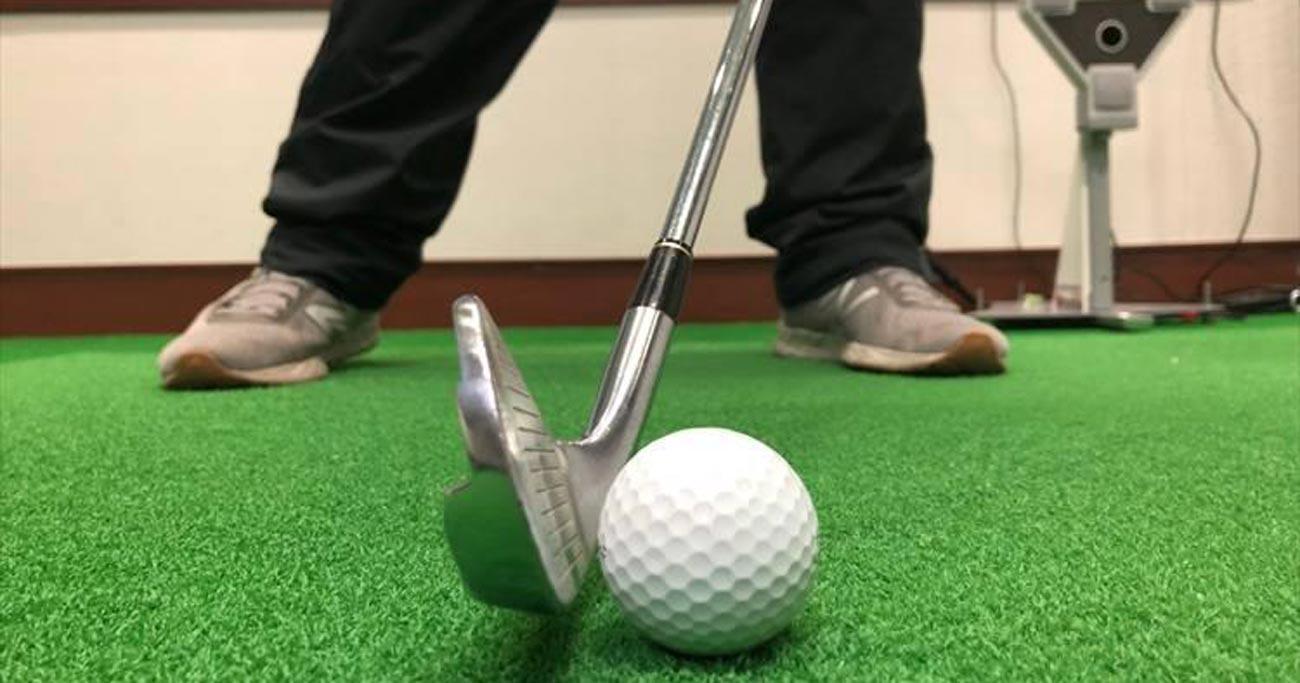 ゴルフのお悩み解決レッスン、アイアンでトップやダフリが出にくい打ち方は?