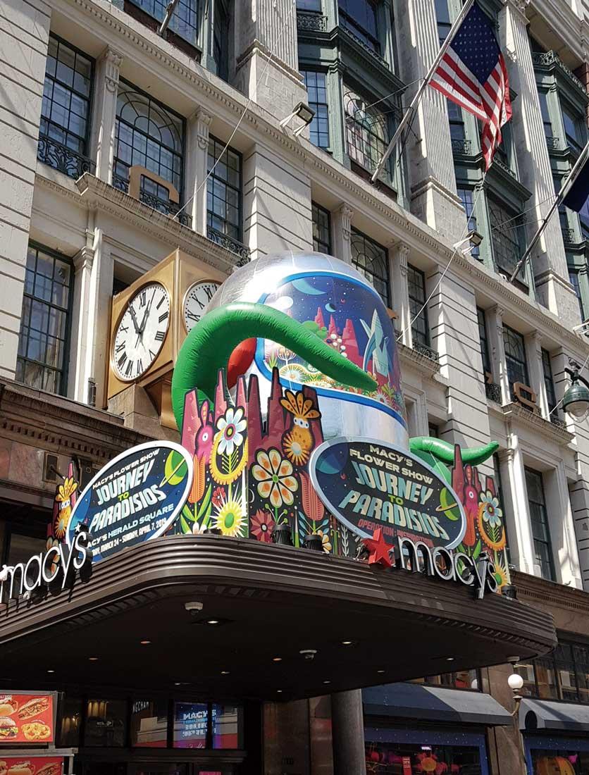 米ニューヨークのメーシーズ本店