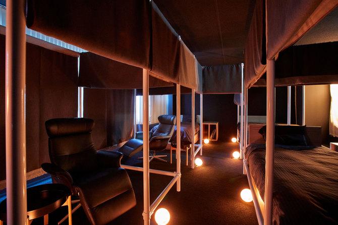 大井町の「ネスカフェ睡眠カフェ」