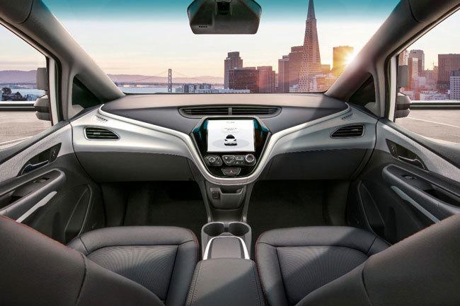 GMの自動運転量産車「クルーズAV」のイメージ図