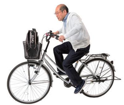 移動は自転車で!
