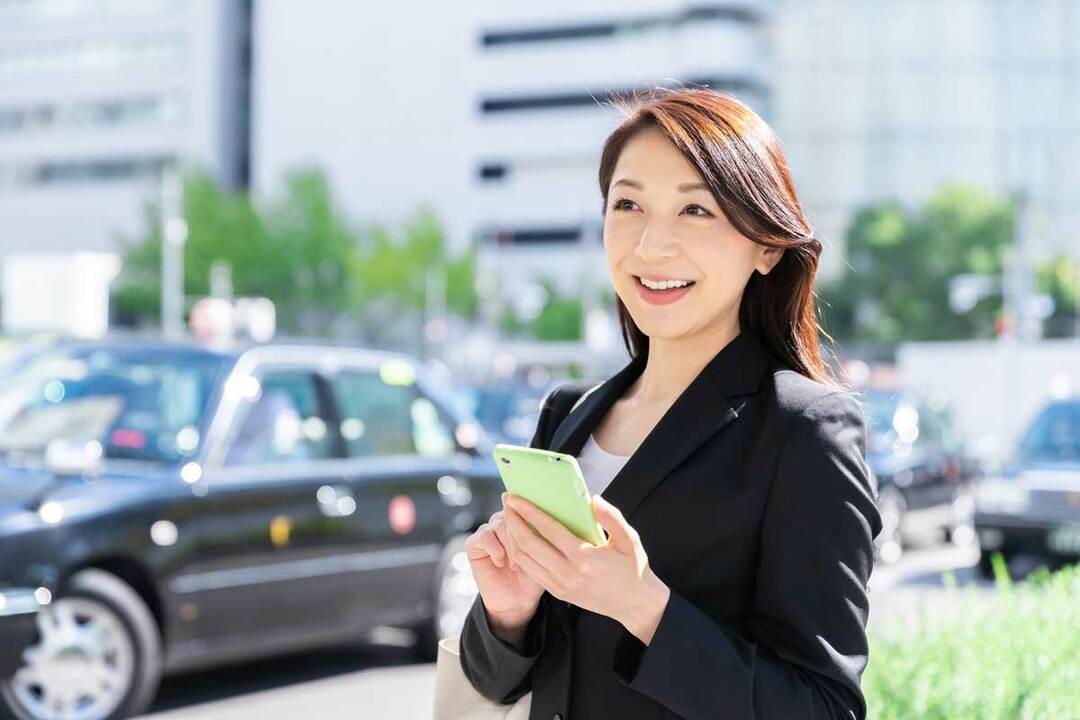 タクシーアプリのイメージ