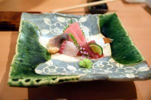 ホテルニューオータニ大阪にある寿司屋「乾山」